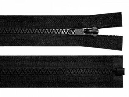 Zips kostený bundový 5mm/60cm čierny