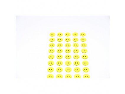 samoprzylepne buzki usmiechy sr10mm 66szt