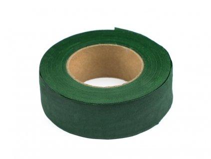 Floristická páska 25mm/25m zelené papradie