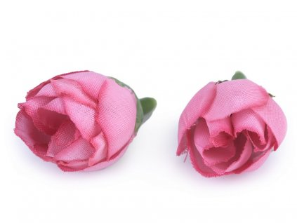 Umelá ružička Ø20mm cyklaménová