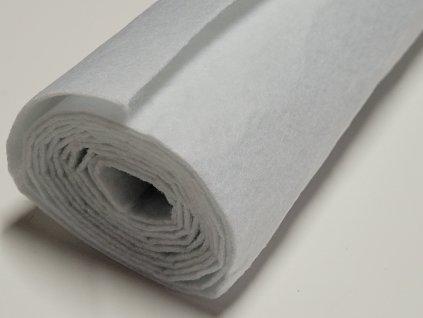 Filc v rolke 1,5mm 20x150cm biely
