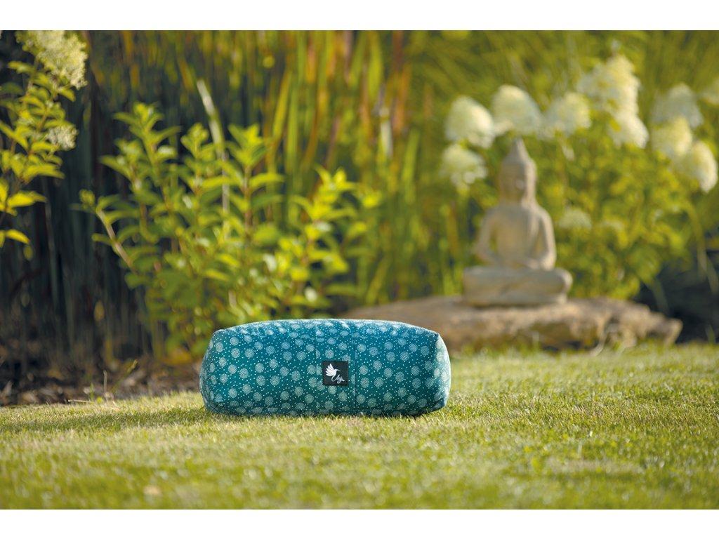 meditační polštářek malý nefritový