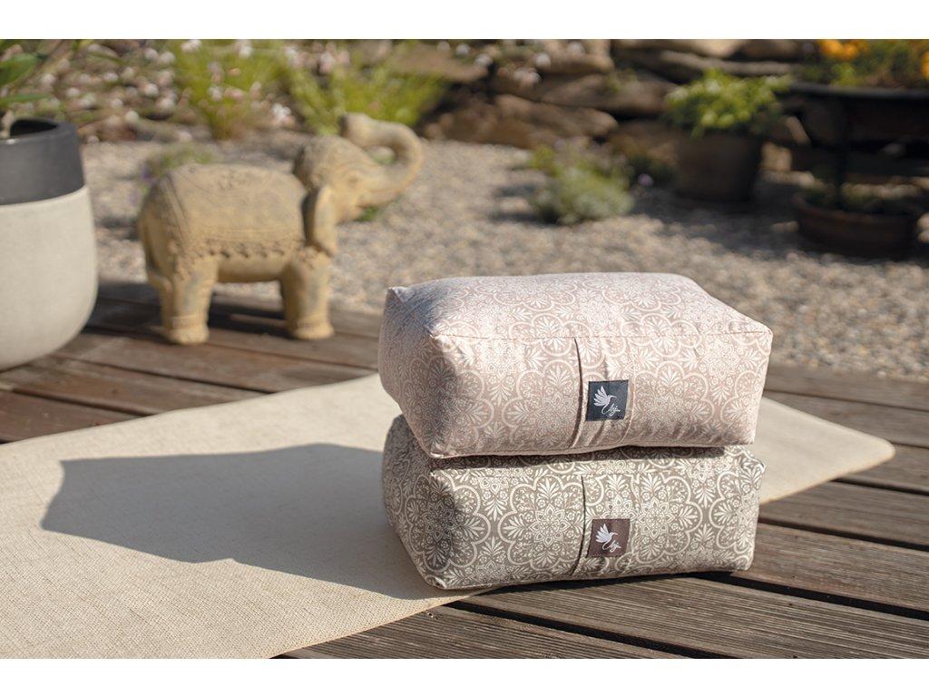 Meditační polštářek BIO bavlna