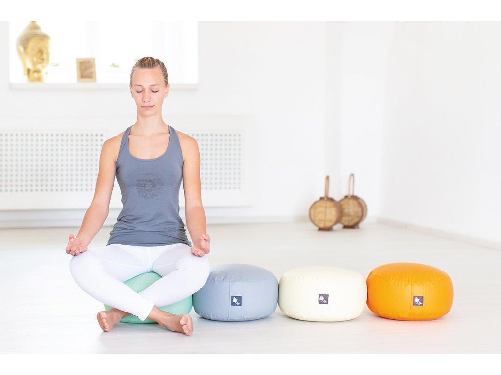 Meditační polštářek zdravotnická koženka