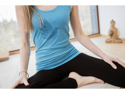 Tilko na jogu Merino modre.JPG