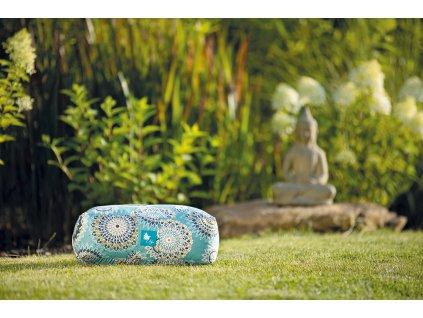 meditační polštářek madaly velké tyrkysové