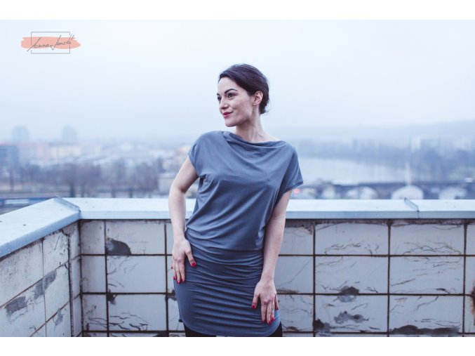 Rosmarina dress I grey