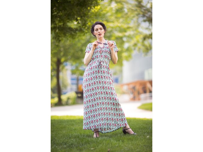 Saxifraga long dress 4