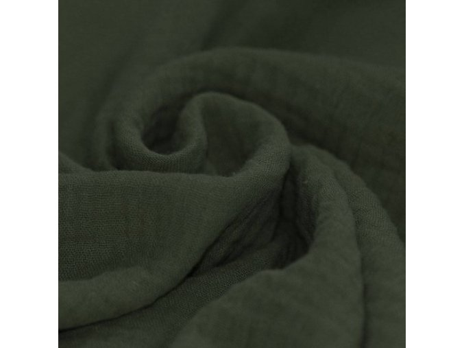 Mušelínová plenka KHAKI
