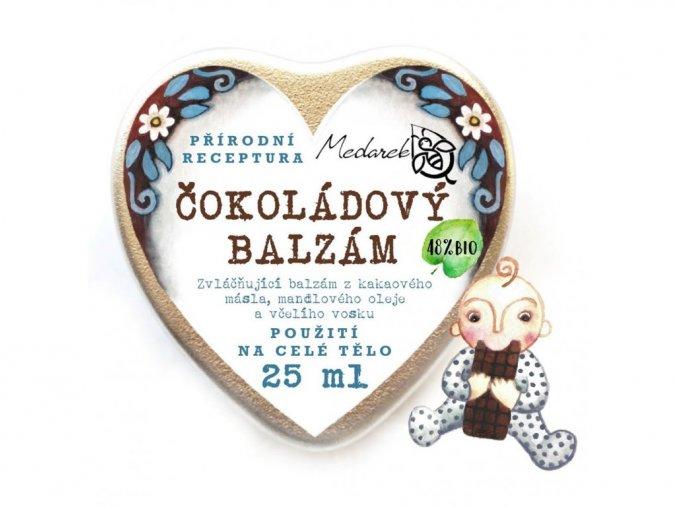 Čokoládový balzám (25ml) - Srdíčko