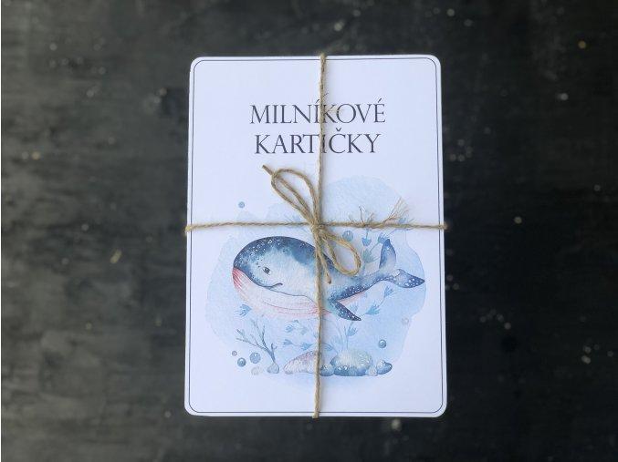 Milníkové kartičky MOŘSKÝ SVĚT 1