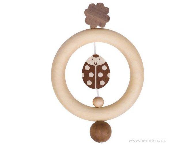 Heimess Dřevěný kroužek BERUŠKA