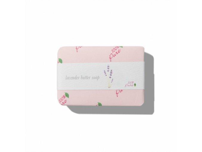 Máslové mýdlo LEVANDULE