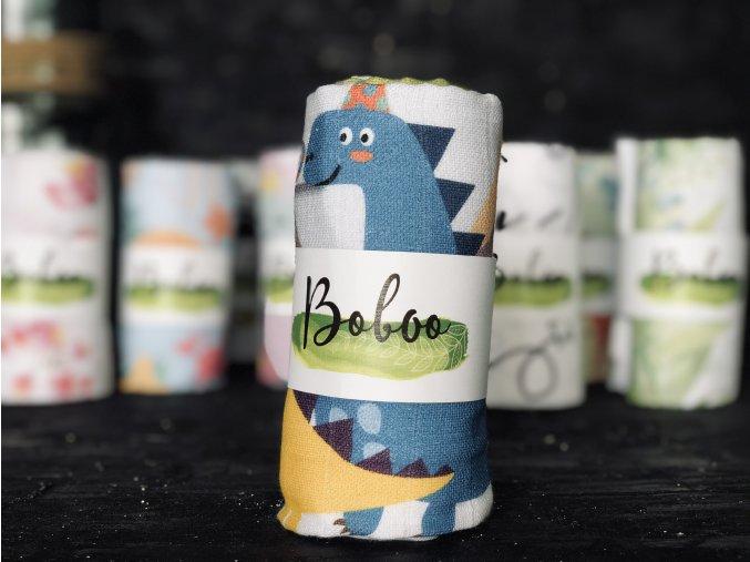 Látková plenka Boboo Handmade Dinosauři
