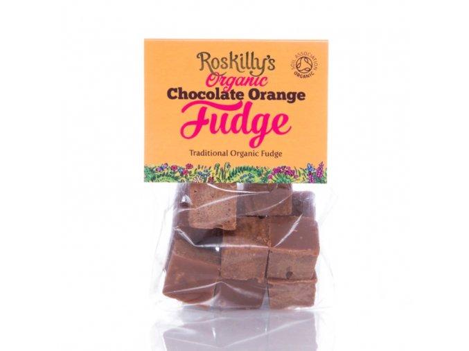 Roskilly´s Organyc karamelky čokoláda a pomeranč