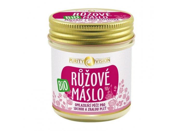 Purity Vision Růžové máslo 120 ml