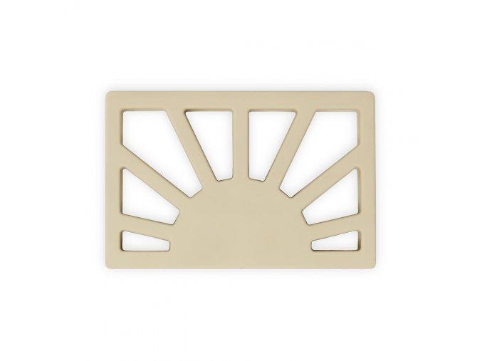 Mushie silikonove hryzatko SUN ShiftingSand