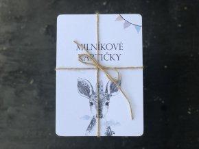 Milníkové kartičky ZVÍŘÁTKA 1