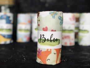 Látková plenka Boboo Handmade Liščí rodinka