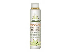 Bio pečující vlasový a tělový šampon pro děti Naturalis