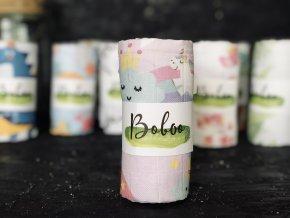 Látková plenka Boboo Handmade Jednorožci v pohádce