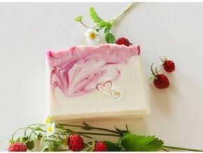 Jahodové mýdlo Mýdlenka
