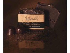 Pralinka čokoláda mýdlo Mýdlenka