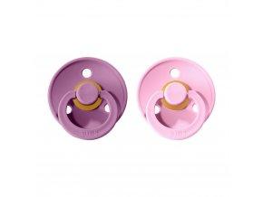 Dudlíček Bibs Colour Lavender + BabyPink