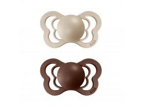 Dudlíček Bibs Couture Vanilla + Mocha