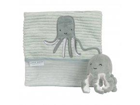 Plyšová knížka velká chobotnice OCEAN MINT