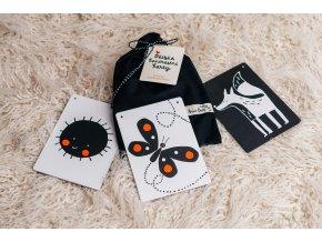 Dětské kontrastní kartičky - Černý pytlík