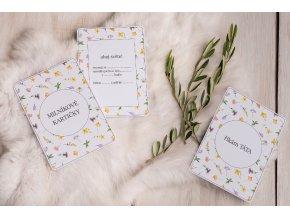 Milníkové kartičky Louka