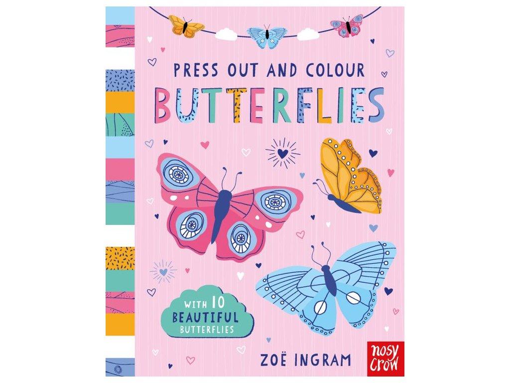Pressout and Color (Butterflies)