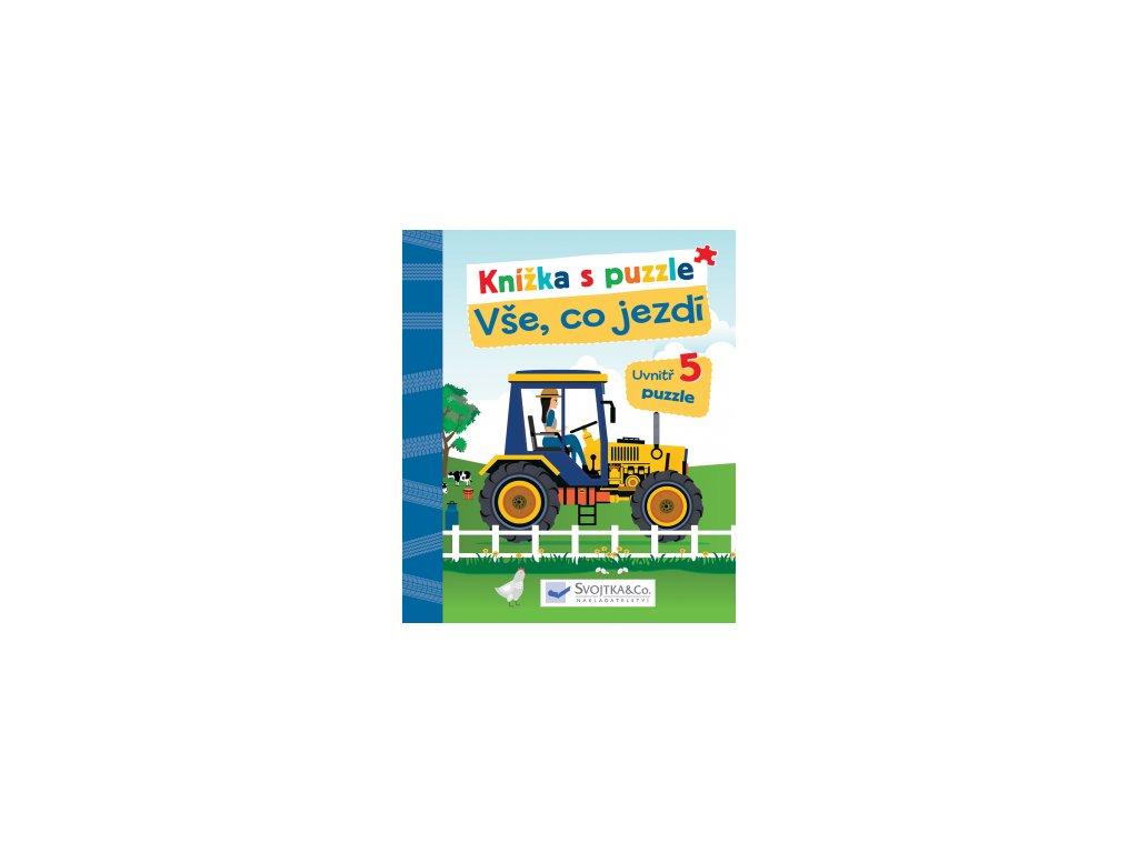 Knížka s puzzle - Vše, co jezdí