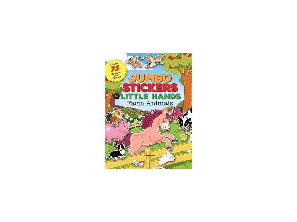 jumbo stickers for little hands farm animals id4840547