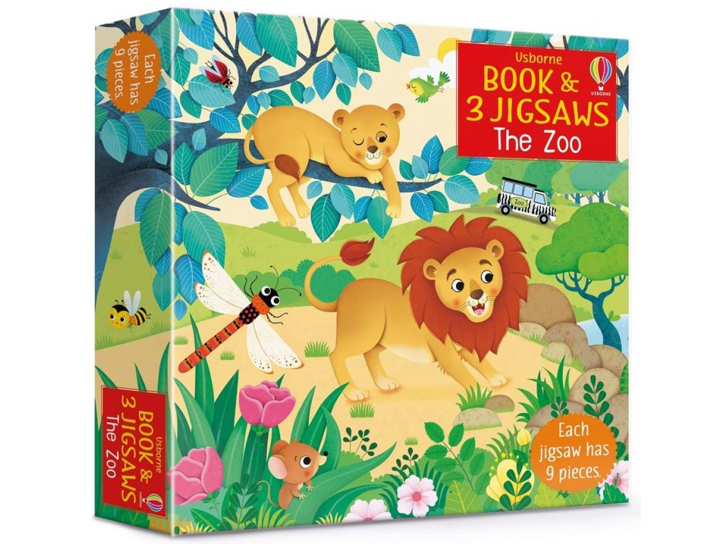 the zoo book and jigsaws