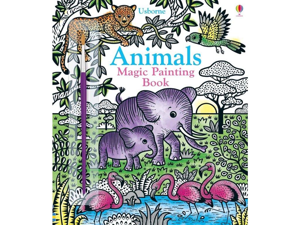 9781474960465 animals magic painting book