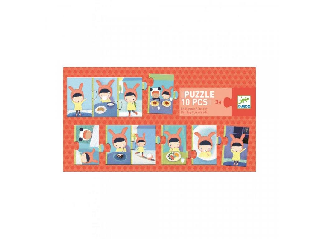 2382 1 djeco trio puzzle denni cinnosti