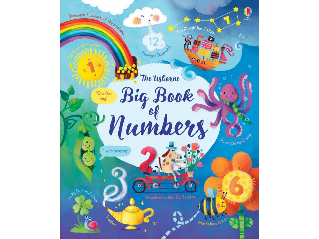 9781474937191 the usborne big book of numbers