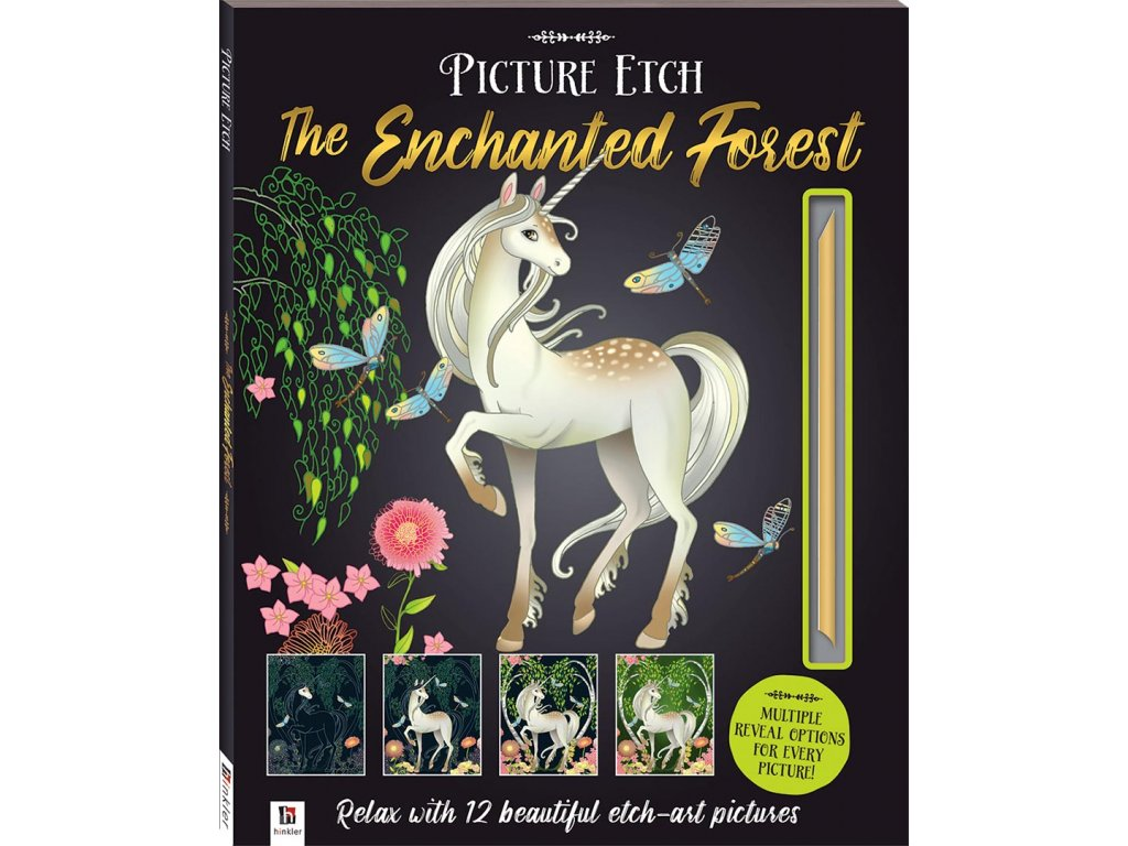 9781488917592 P04781 Picture Etch Enchanted Forest