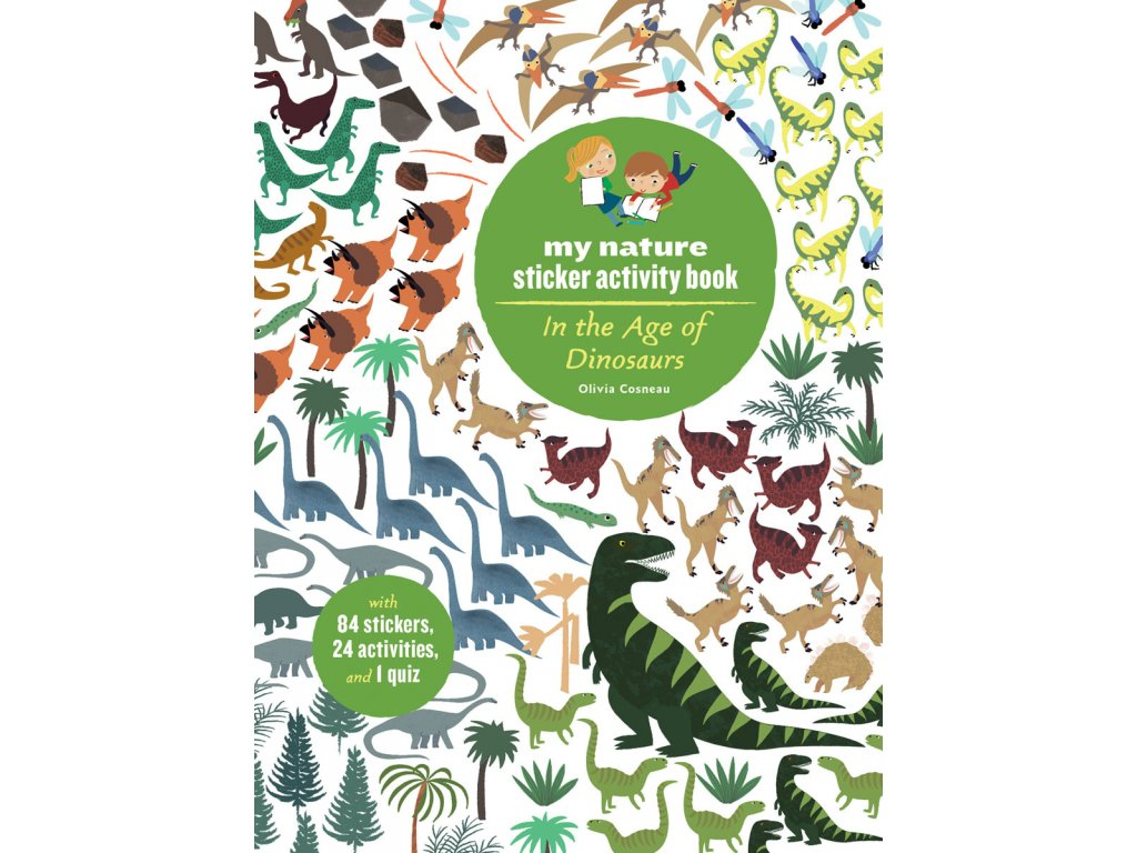 my nature sticker act book Dinosaurs
