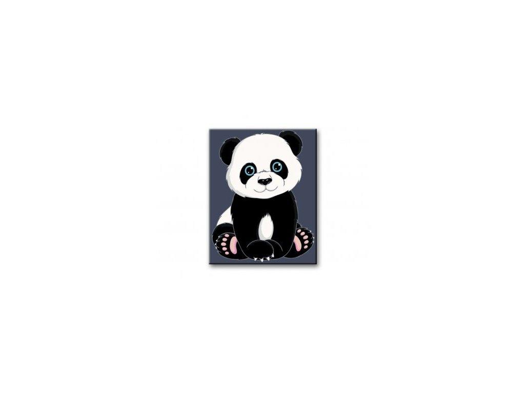14507 malovani podle cisel panda