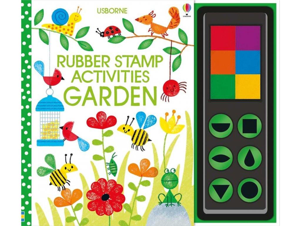 9781474942768 rubber stamp activities garden