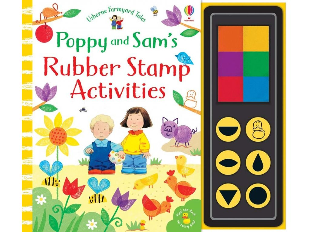 9781474952705 poppy and sam rubber stamp activities
