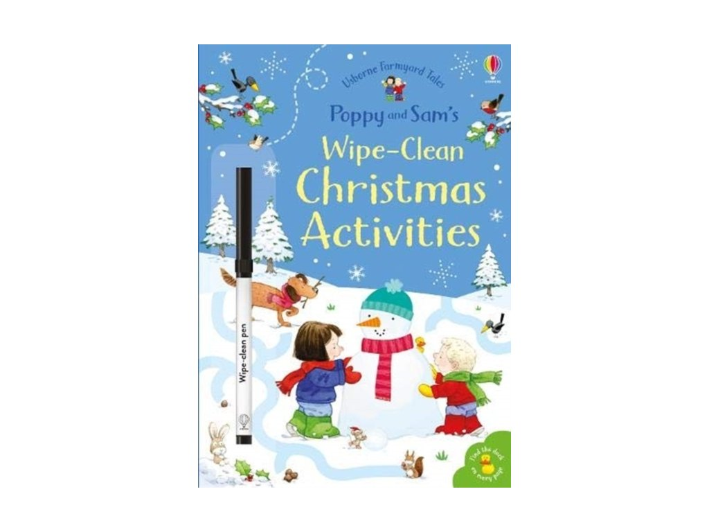poppy and sam s wipe clean christmas activities