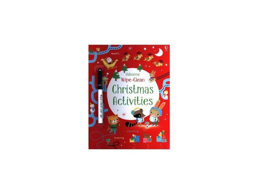 usborne wipe clean christmas activities