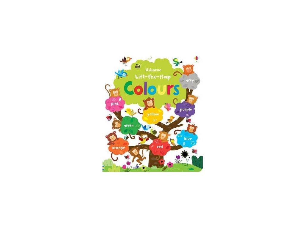 Lift-the-flap: Colours