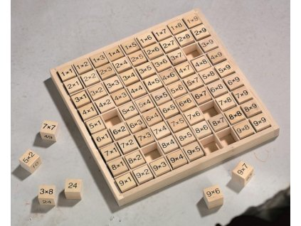 Haba EDU Hra na rozvoj matematických představ Malá násobilka do 100 od 6 let