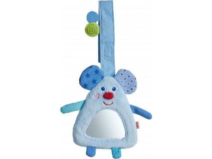 Haba textilná hračka pre bábätká na zavesenie Myška