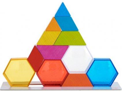 Barevné krystaly - stavebnice HABA